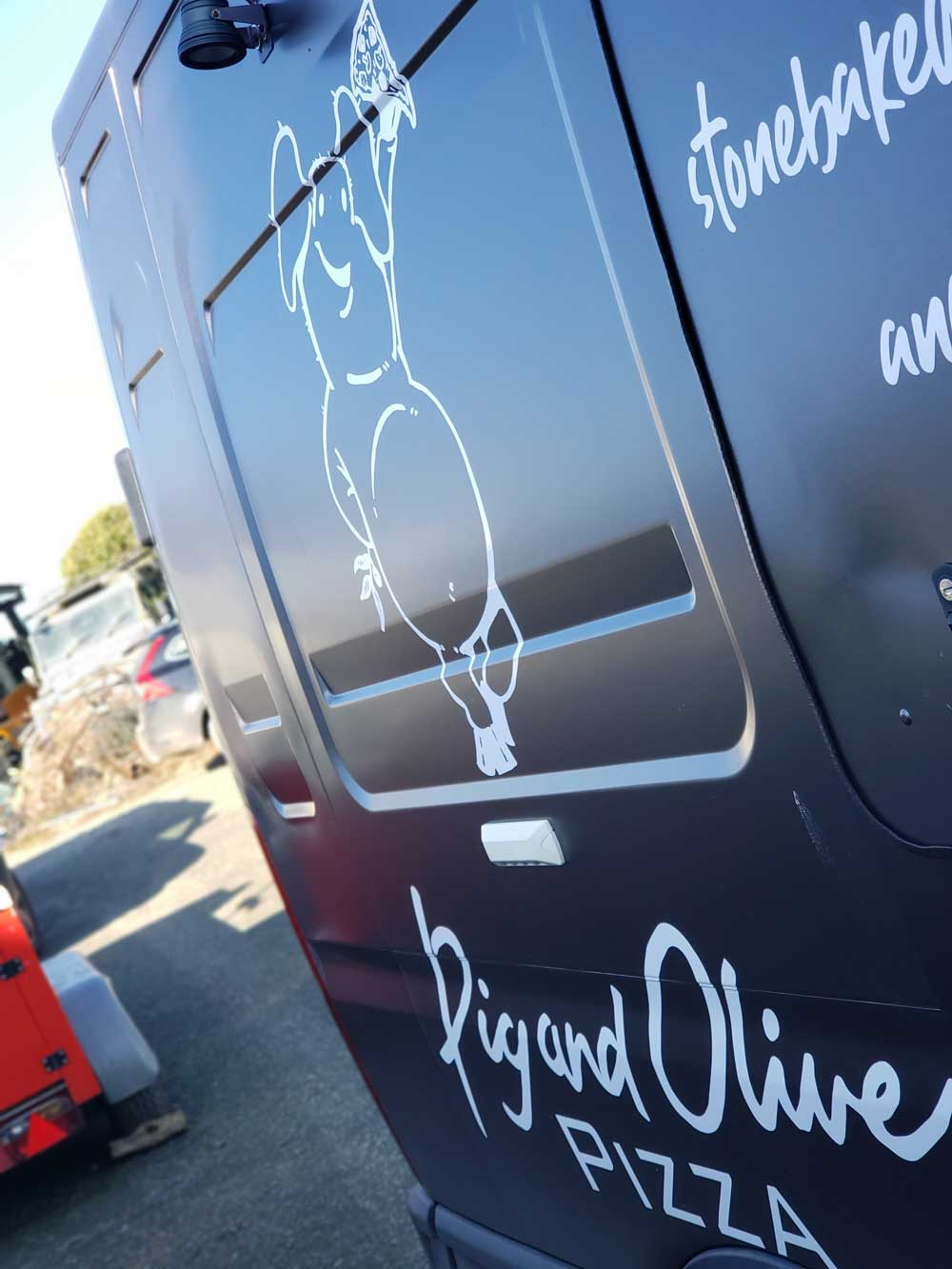 Brand New Look for our pizza van